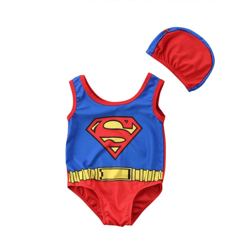 Sinnvoll 2 Stücke Neugeborenen Jungen Schwimmen Anzug Hüte Badeanzug Bademode Badeanzug Beachwear Schwimmen Anzug Den Speichel Auffrischen Und Bereichern Kinder Einteiler