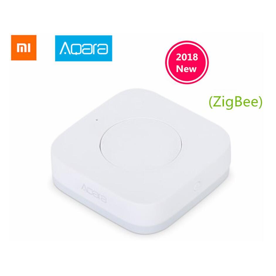Xiaomi Aqara Smart Wireless Switch Key Built In Gyro Function,ZigBee Wifi Work With Xiaomi Smart Home Mijia Mi Home App