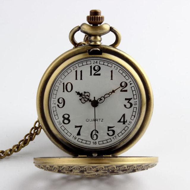 Hot Sale Vintage Bronze Web Spider Pocket watch Necklace Antique chain pendant watch Medical Nurse fob watches Clock of Pocket