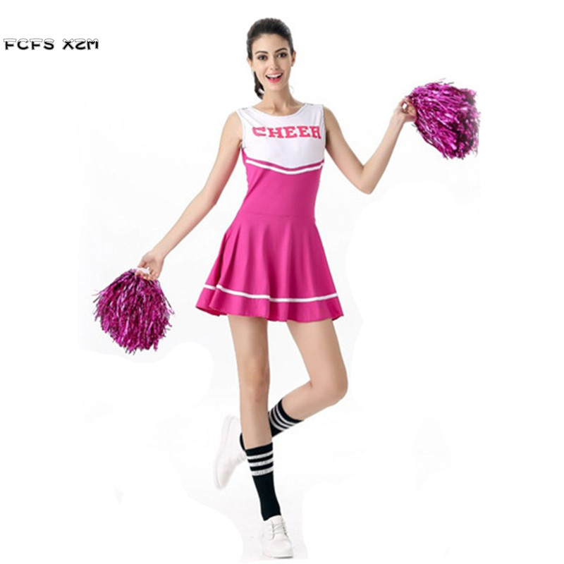 Halloween Cheerleading Costumes for Woman Girls Cheerleader uniforms Cosplays Games sports meeting cheer squad performance dress on Aliexpress.com | Alibaba ...  sc 1 st  AliExpress.com & Halloween Cheerleading Costumes for Woman Girls Cheerleader uniforms ...