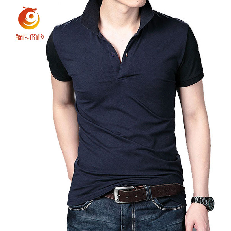 high quality cotton men polo shirt summer fashion style