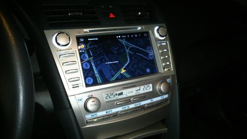 GPS 車ラジオ 4 2din 4