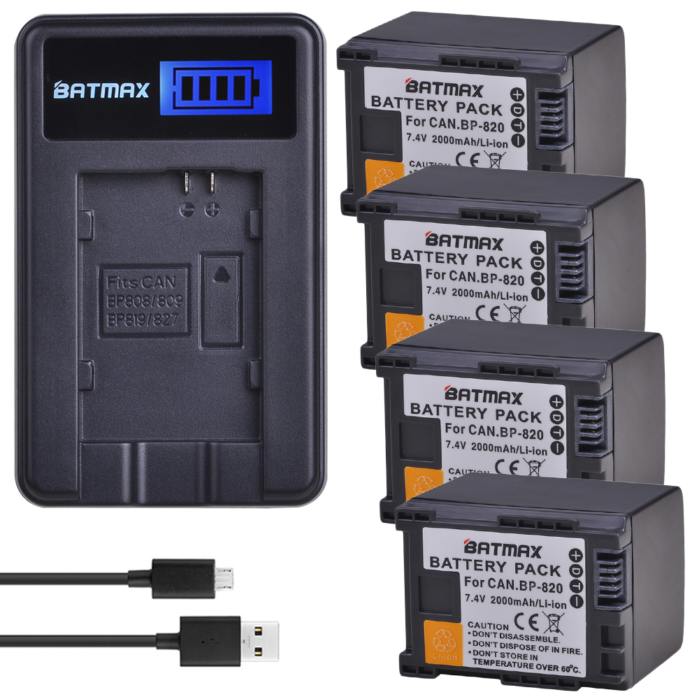 Batmax 1 PC BP-828 BP828 batteria di Ricambio per Canon LEGRIA HF G30, G40, XA20, e XA25 Videocamere BatterieBatmax 1 PC BP-828 BP828 batteria di Ricambio per Canon LEGRIA HF G30, G40, XA20, e XA25 Videocamere Batterie