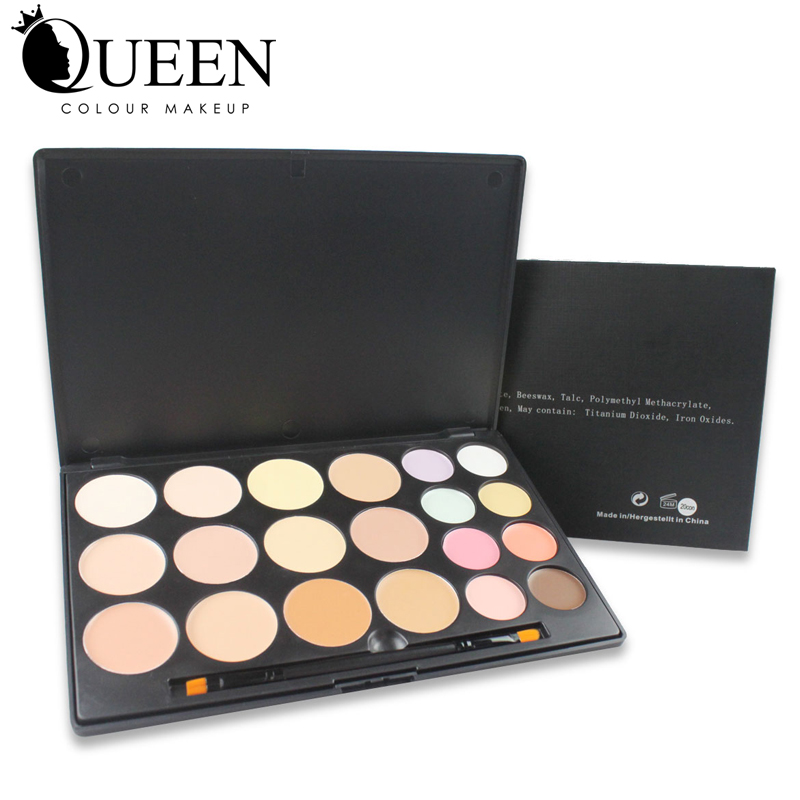QUEEN Professional 20 Colors makeup set Concealer palette Colorful Concealer Foundation Best Quality Concealer