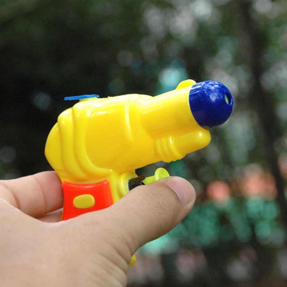 Mini Waterpistool Zomer kind Baby Strand Speelgoed Party Tuin Bad Speelgoed Zwemmen Drifting Transparant Waterpistool, willekeurige kleur selecteren