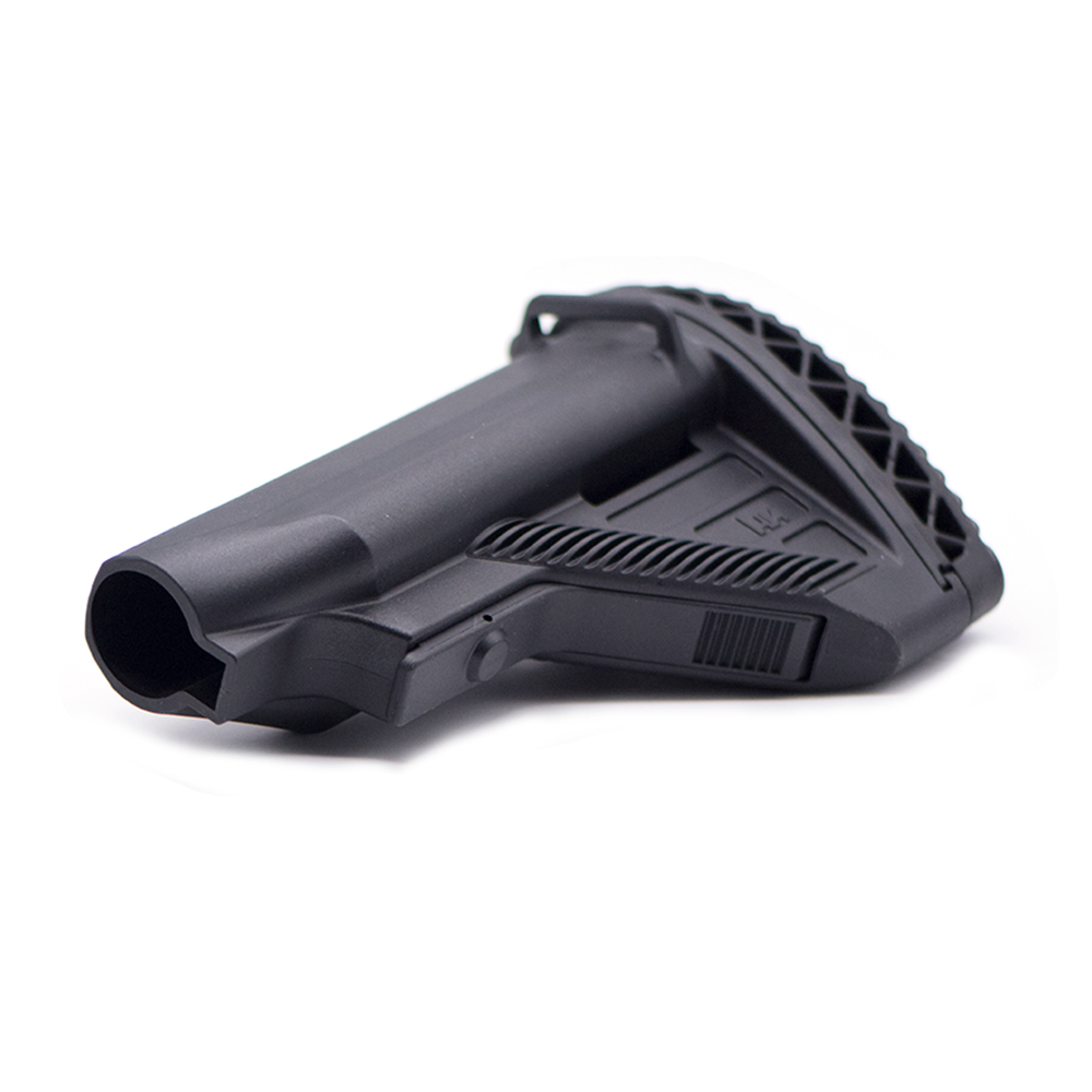 High Quality Tactical Nylon Stock For HK416 For Gel Blaster Paintball Airsoft Air Guns JinMing8 JinMing9 Toy Accessories
