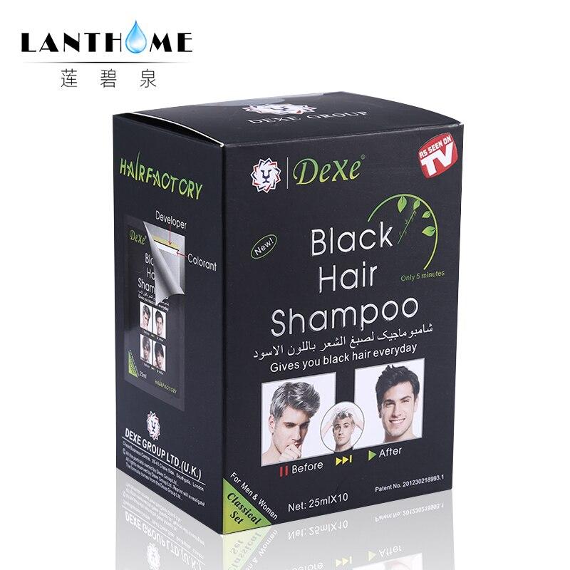 Aliexpress Buy Fast Black Hair Dye Shampoo Hair Color