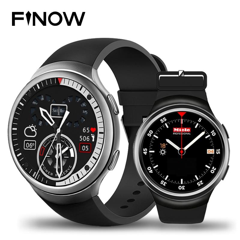 New Finow X3 Plus Smart Watch K9 Upgrade Android 5 1 MTK6580 1GB 8GB Bluetooth 4
