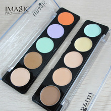 Hot Sale 5 Nude Color Concealer Concealer Palette Portable Salon Face Cream Nature Cosmetics Beauty Tools IMAGIC 2 Style