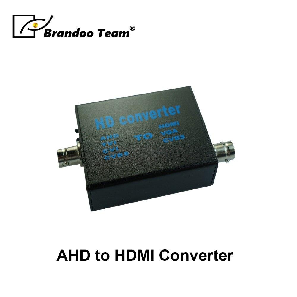 AHD To 1080P HDMI Video Converter VGA CVBS HDMI signal output AHD Repeater AHD amplification signal output new 1080p hdmi to cvbs and s video signal converter can convert hdmi video signal to cvbs composite video signal