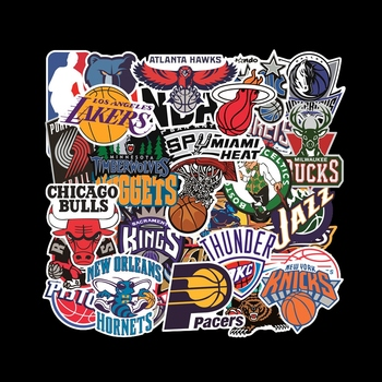 32PCS/ Pack Sports Car Stickers Set Car Fan Stickers For Luggage Skateboard Laptop Guitar Fridge Bicycle Stickers 1