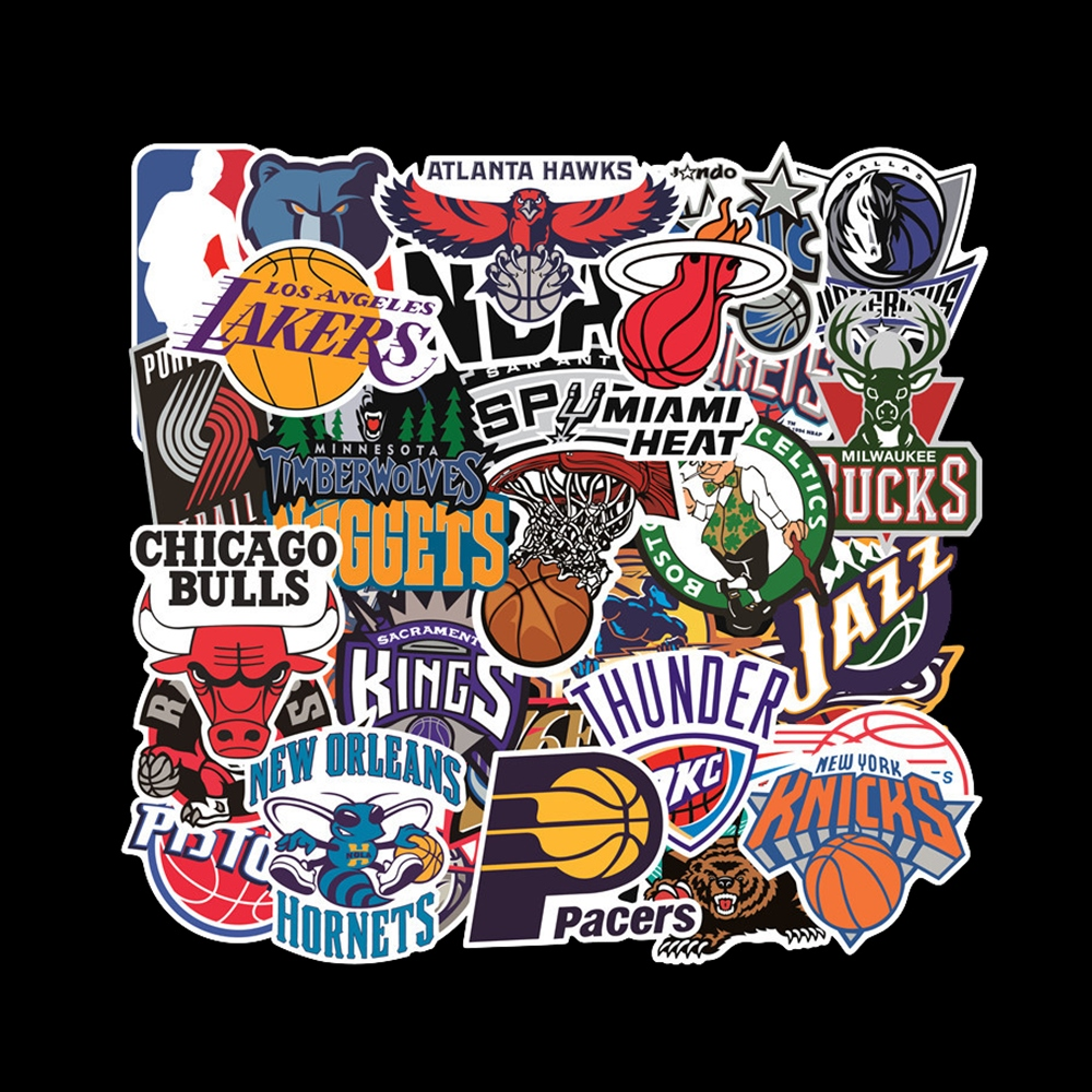 32PCS/ Pack Sports Car Stickers Set Car Fan Stickers For Luggage Skateboard Laptop Guitar Fridge Bicycle Stickers