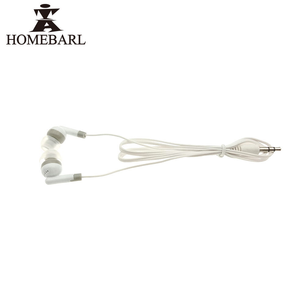 HOMEBARL 100Pcs Lot Earphones Auricular General Wire Earphone For iphone Samsung Galaxy J5 S6 S4 S7
