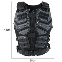 Abay TF3 Airsoft Tactical Vest Transformer Combat Body Armor Swat Military Army Paintball Wargame Shooting Hunting Vests