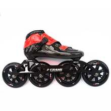 125mm*4 wheels inline skates shoes Professional adult child roller skates with 125mm Frame speed skate  Patins Roller Skate