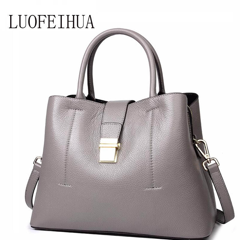 Genuine Leather women bags for women 2019 new fashion leather handbags handbags big bag Simple leather crossbody bagGenuine Leather women bags for women 2019 new fashion leather handbags handbags big bag Simple leather crossbody bag