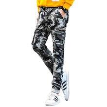 2017 новое прибытие 100% хлопок тощий Камуфляж брюки-карго мужчины, мода Камуфляж мужские брюки Мужчины камуфляж джинсы