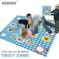 Kedior Twister Clássico Jogo de Tabuleiro Jogo Torção Laços Você Em Cima nós Chef Equilíbrio Esportes Jogos de Festa de Família Mais de 2 Jogadores