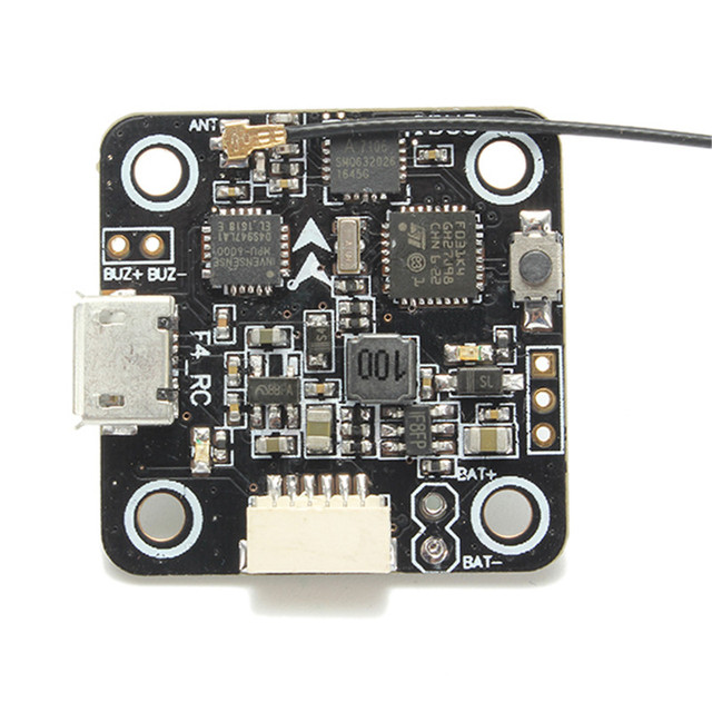 US $55 98 |Betaflight 3 1 0 F4 Flight Controller Integrated Compatible  Flysky Receiver 20x20mm Built in 5V BEC for FPV Quadcopter Drones-in Parts  &