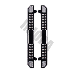 Image 3 - INJORA 2PCS TRX4 Metal Pedal Rock Sliders Board for 1/10 RC Crawler Traxxas TRX 4 Trx 4 Upgrade Parts