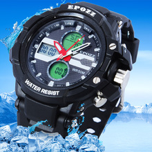 цена на Relogios brand EPOZZ men sports watches racing dive electronic wristwatches military watches reloj hombre montre homme