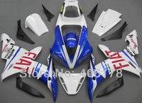 Лидер продаж, YZF1000 R1 02 03 полный набор для Yamaha YZF R1 2002 2003 Спорт mototrcycle Fiat кузов Обтекатели (Термопластавтоматы)