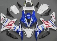 Ventes chaudes, yzf1000 R1 02 03 ensemble complet Pour Yamaha Yzf R1 2002 2003 Sport Mototrcycle FIAT Carrosserie Carénages (moulage par injection)