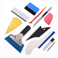 EHDIS Auto Sticker Cutter Tools Kit Vinyl Wrap Car Squeegee Scraper Carbon Wrapping Foil Film Knife Accessories Tints Tool Set