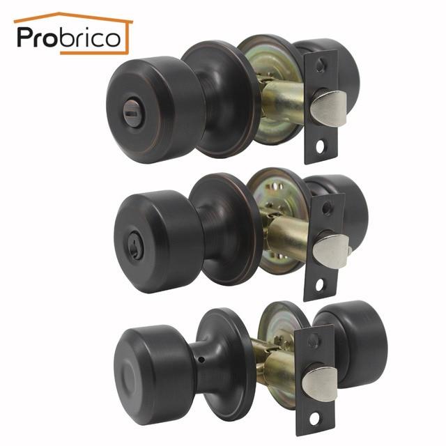 Probrico Oil Rubbed Bronze Door S Keyed Alike Entry Locks Page Handle Keyless Privacy Set Lockset