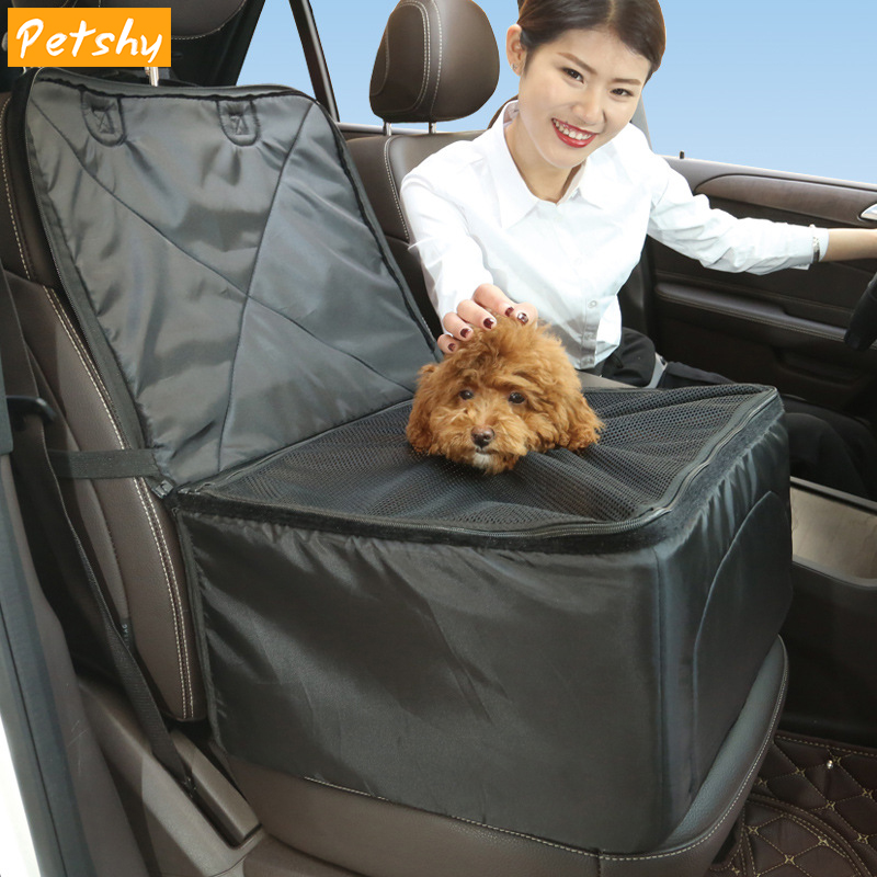Petshy Pet Dog Car Carrier Bag Safety Foldable Waterproof Anti Slip Seat Cover Cat Puppy Travel Carry Hammock