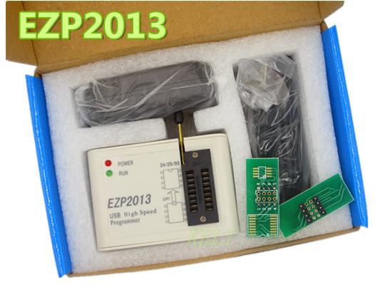 Frete Grátis 1 PCS EZP2013 recentes (EZP20 10 Upgrade) high-speed USB Programmer adapter suporte 24/25/26/93 suporte EEPROM W7 W8