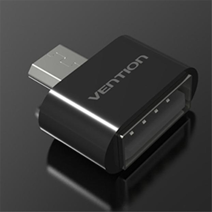 NEW Mecall Tech Vention VAS-A07 Micro USB To USB OTG Mini Adapter 2.0 Converter for Android free shipping wholesale Feb07