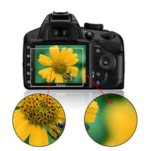 Закаленное стекло Фильм Камера ЖК-дисплей Экран протектор для Nikon D3100/D3200/D3300 Камера Аксессуары оптовая продажа
