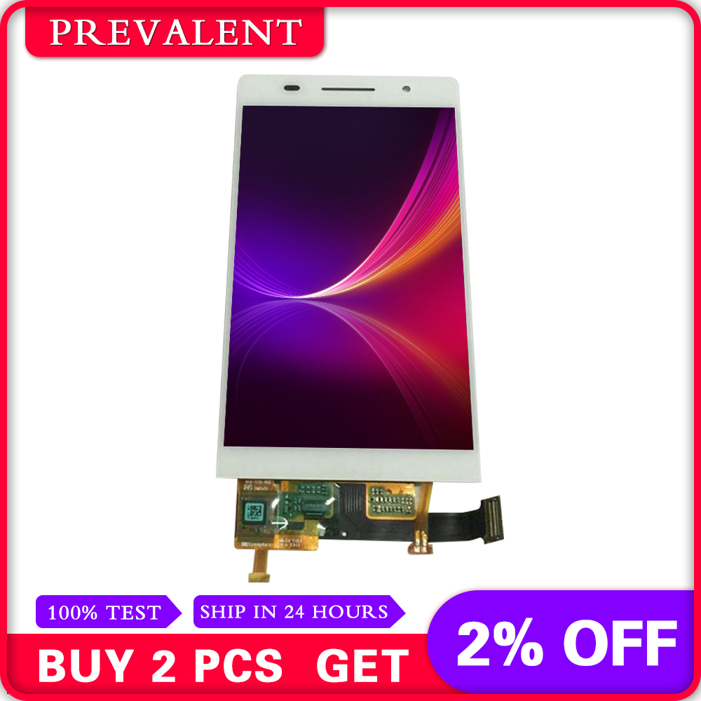 US $18 56 |For Huawei Ascend P6 P6S P6 U06 C00 T00 S U06 LCD Display Panel  Monitor + Touch Screen Digitizer Sensor Glass Assembly-in Mobile Phone LCDs