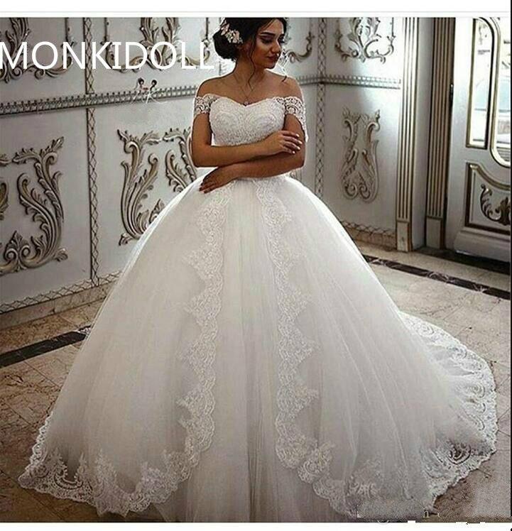 Online Get Cheap Modest Ball Gown Wedding Dresses Aliexpresscom