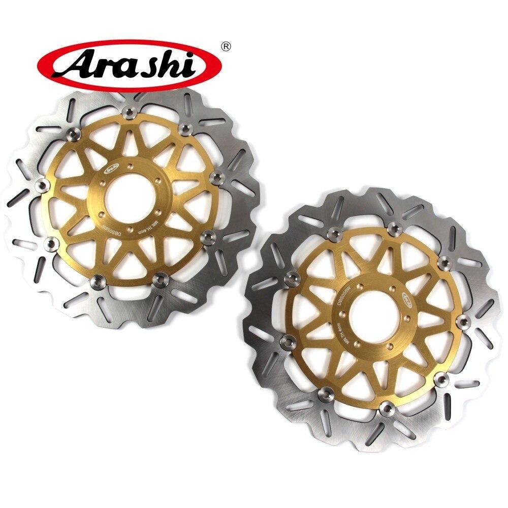 ARASHI For YAMAHA FZR EXUP 1000 1990 1995 CNC Front Brake Rotors Brake Disc 1990 1991 1992 1993 1994 1995 TZR 250 YZF R 750 XJR