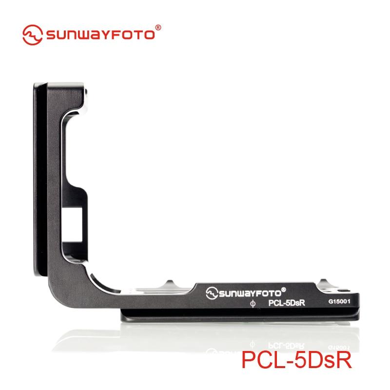 SUNWAYFOTO PCL-5DSR Tripod Head QR Plate For 5DS 5DSR Specific Aluminum Quick Release