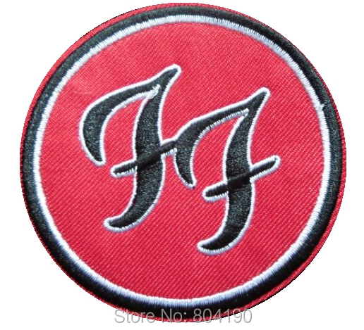 Foo Fighters Ff Music Band Embroidered Logo Iron On Patches For