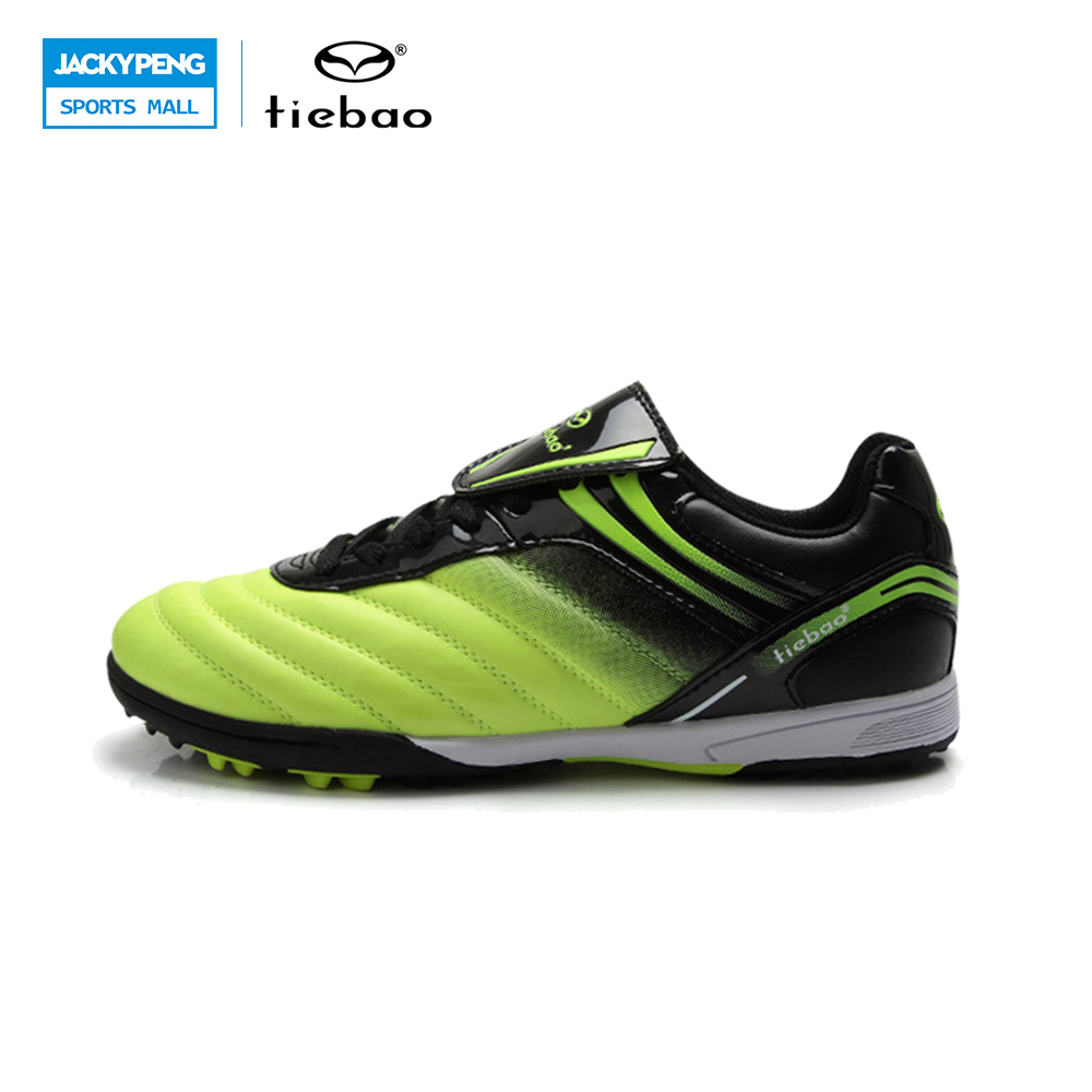 TIEBAO Professional Outdoor Kids' Sneakers Trainers Outdoor rass Soccer Shoes Cleats For Children Sports Football Shoes