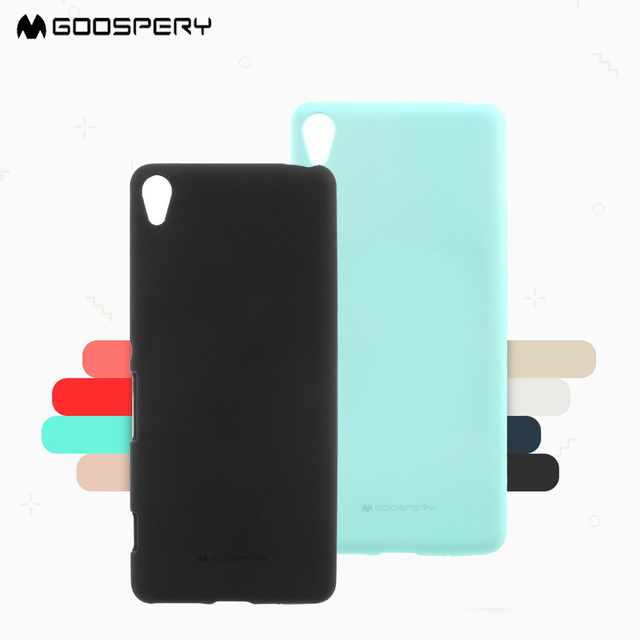 promo code 5659c f996a US $6.99 |MERCURY Hot For Sony X XA XZ C6 Phone Case GoosPery Soft Feeling  TPU Back Case for Sony Xperia X F5121 XA F3115 Ultra F3212 XZ-in ...