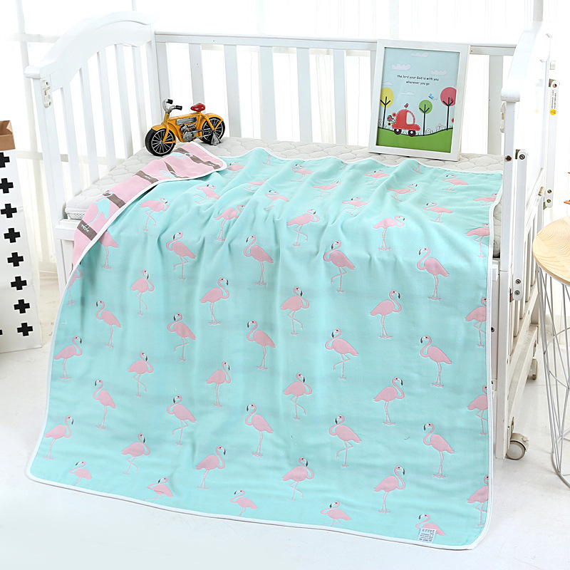 New 6 Layers Muslin Cotton Baby Blankets Swaddles Newborn Wrap Gauze Crown Children Blankets Infant Bath Towel Size 110x110cm 6 layers muslin cotton baby blankets swaddles newborn wrap gauze crown children blankets infant bath towel size 150 200cm
