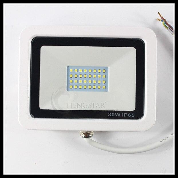 Reflector Led 50w High Power Smd3030 110-120v/220v-240v 120degree Super Bright Cool White White Cover Led Outdoor Floodlight