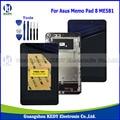 """Оригинал 8.0 """"Tablet PC ЖК Планшета Ассамблея Для Asus Memo Pad 8 ME581 ME581C K015 ЖК-Дисплей Сенсорный Экран с Рамкой + инструменты"""