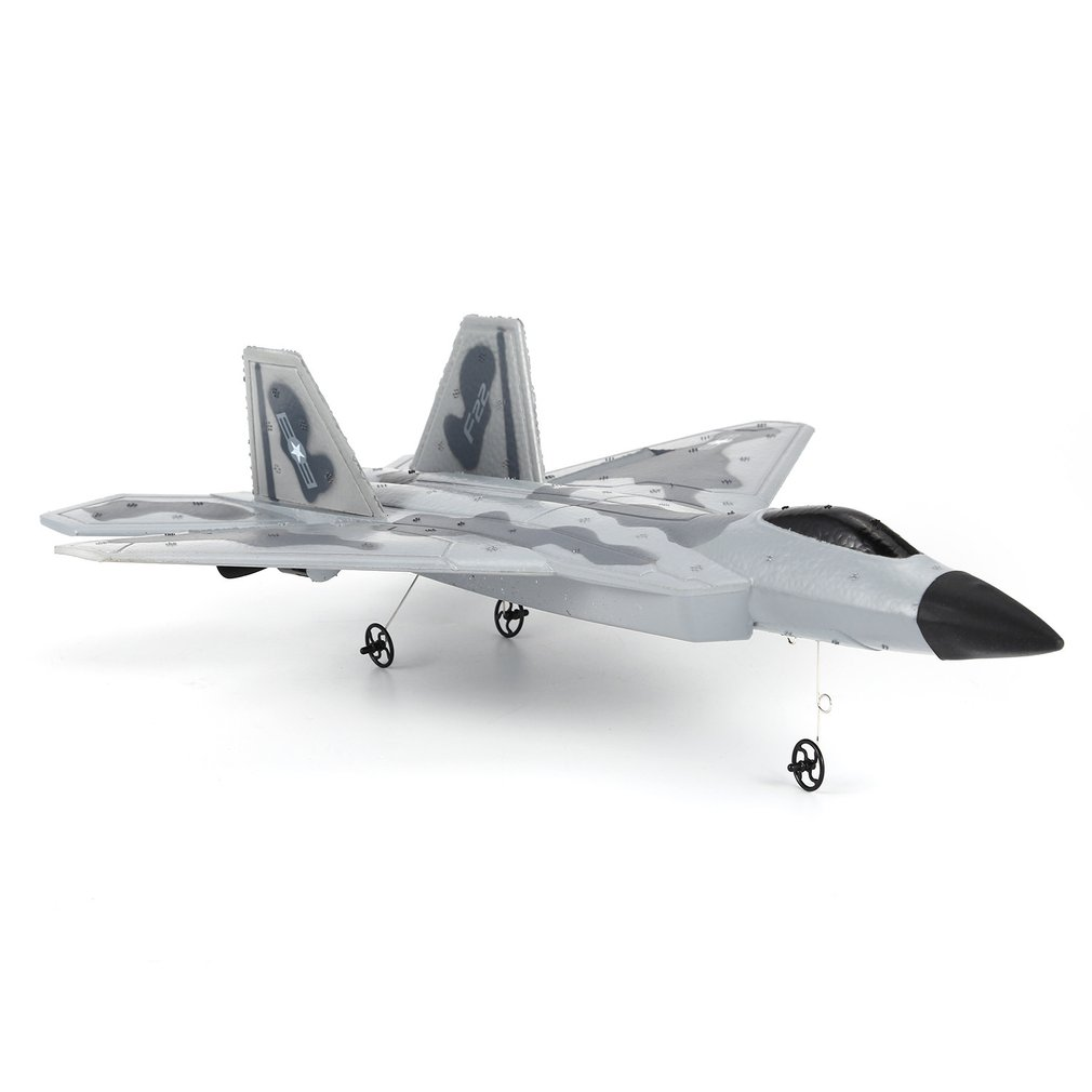 FX-822 F22 2.4GHz 290mm Wingspan EPP RC Fighter Done Battleplane RTF Remote Controller RC Quadcopter Aircraft Drone Model Toy