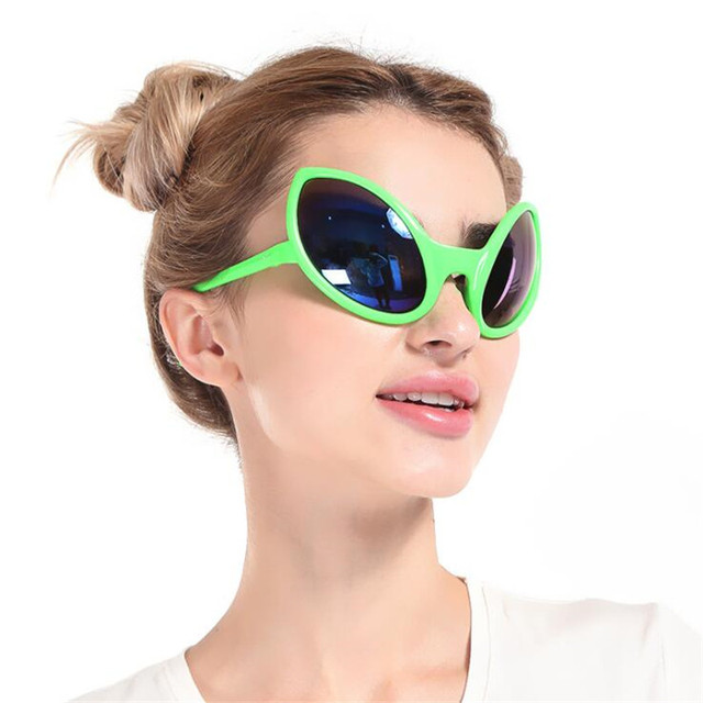 ea09b87133 Funny Alien Costume Sunglasses Mask Novelty Glasses Halloween Photo booth  Props Accessories Party Supplies Decoration Gift