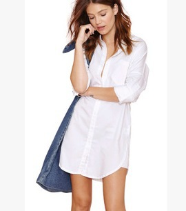 Ladies Oversized White Shirt | Is Shirt