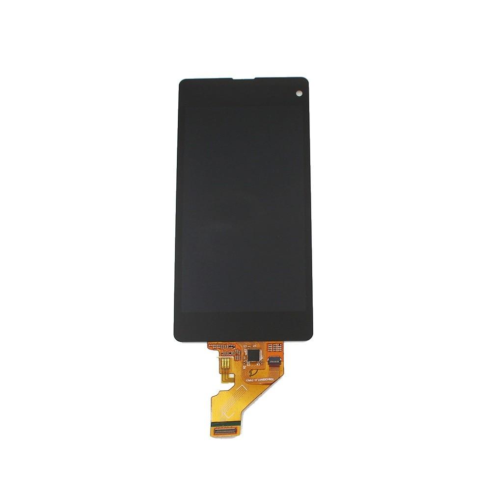 Цена за Для Sony для Xperia Z1 компактный M51w Z1 мини D5503 ЖК-дисплей с сенсорным экраном преобразователь в сборке Бесплатная доставка + Инструменты