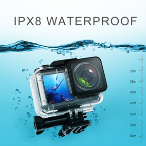 Image 3 - Водонепроницаемый чехол для спортивной камеры, новинка для DJI Osmo Action Diving, водонепроницаемый корпус, аксессуары 2019