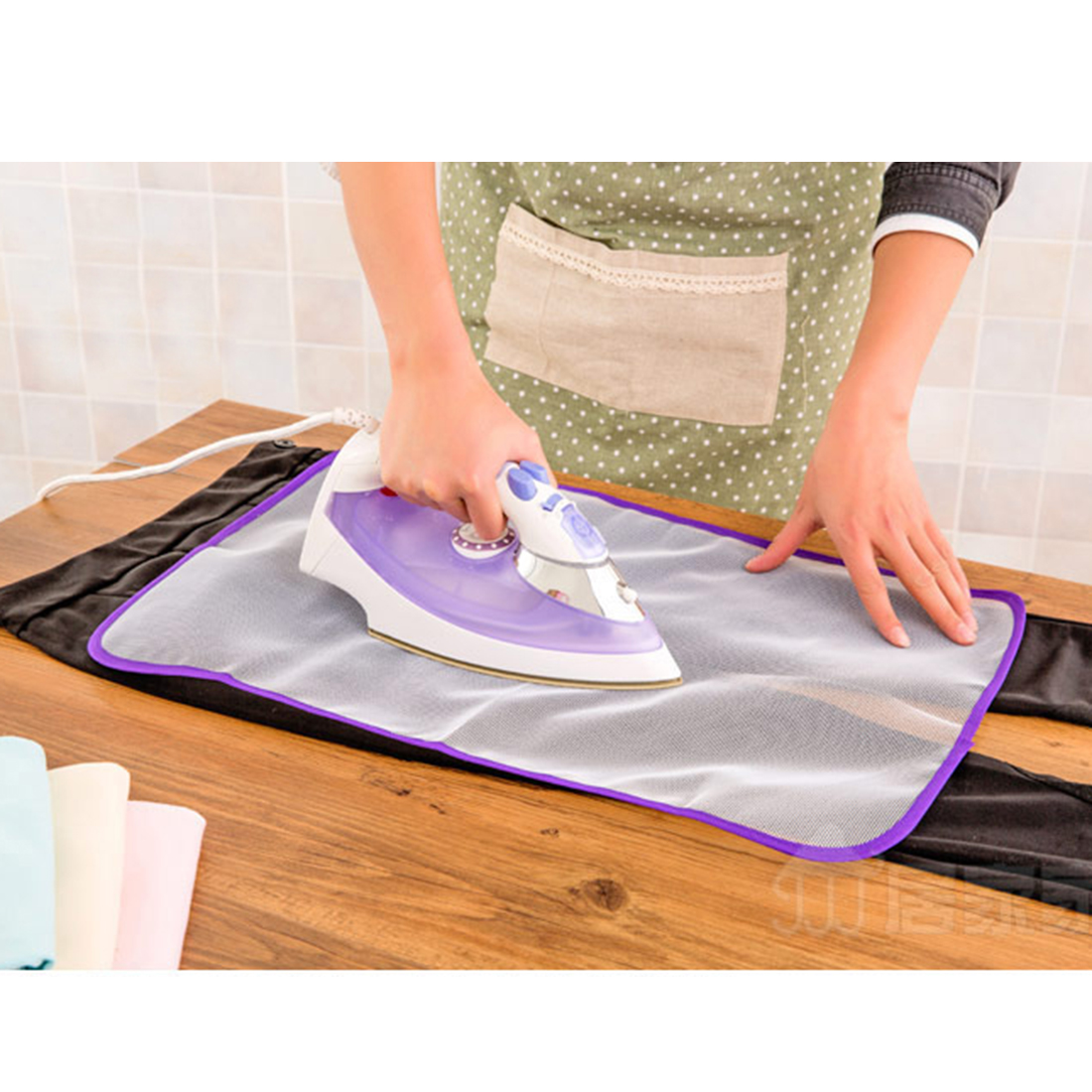 2016 Hot Sale Clothing Heat Resistant Ironing Mat Mesh ...