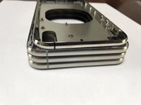 Premium Back Housing Middle Frame Bezel Chassis With Side Button Key Sets Repair Replacement For iPhone 8 8 Plus X New